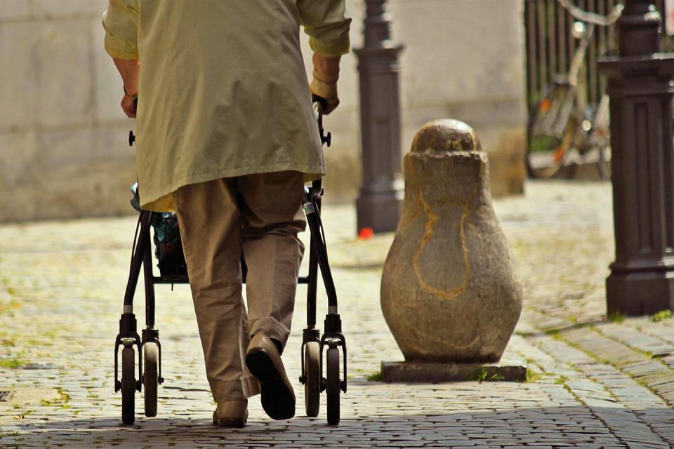 Rollator niet alleen voor oude mensen