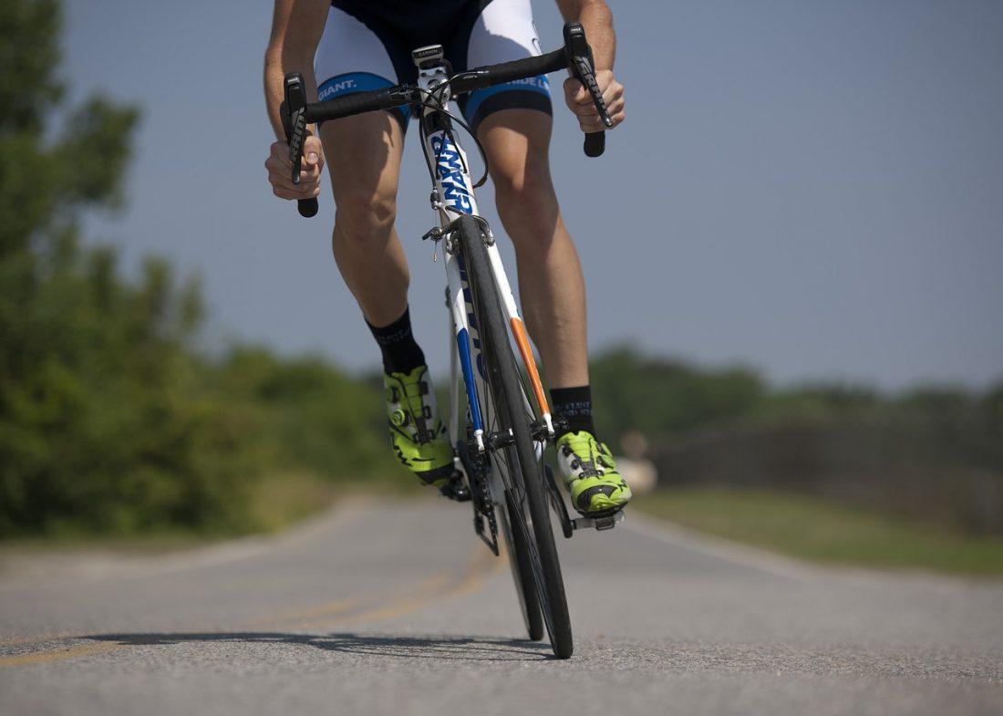 Verlies gewicht door te fietsen