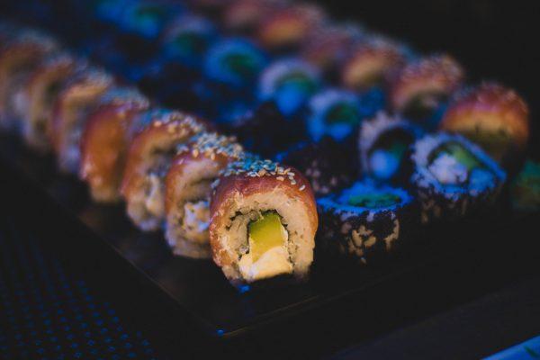 sushi eten sport