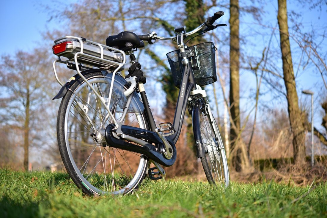 fietsen op een e-bike gezond
